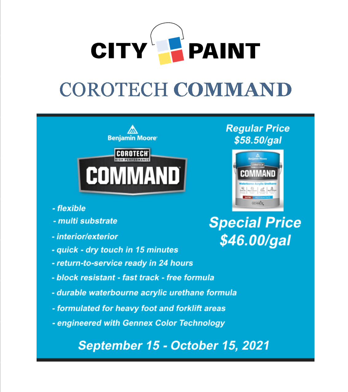 Save On Corotech Command